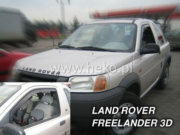 Ветровики LAND ROVER Freelander I (1997-2006) 5D пять дверей - HEKO