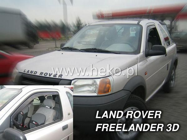 Ветровики LAND ROVER Freelander I (1998-2006) 3D HEKO