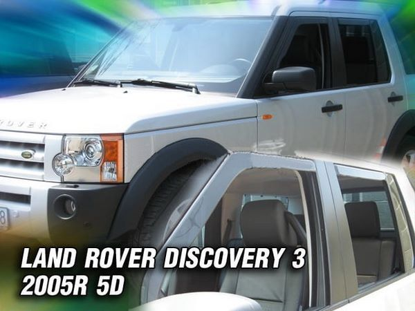 Ветровики LAND ROVER Discovery III / IV (2004-) 5D HEKO