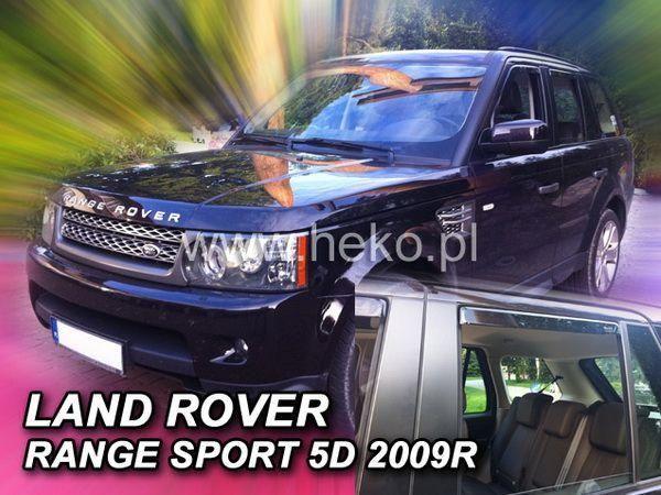 Ветровики Range Rover Sport (2005-) 5D HEKO