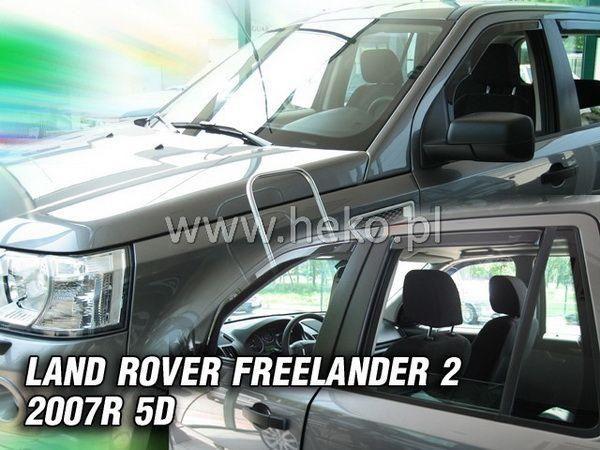 Ветровики LAND ROVER Freelander II (2006-) 5D HEKO