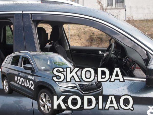 Ветровики SKODA Kodiaq (2016-) HEKO | Дефлекторы окон