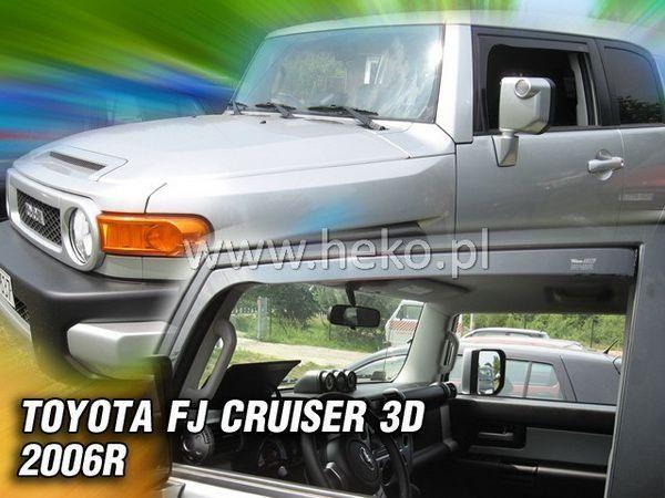 Ветровики TOYOTA FJ Cruiser (2006-) 3D HEKO