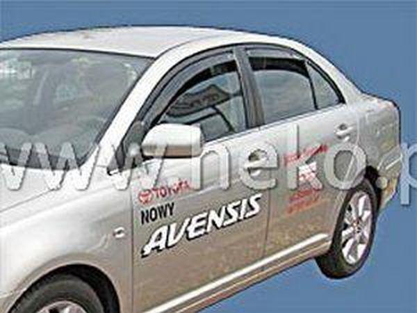 Ветровики TOYOTA Avensis I (1997-2003) Liftback HEKO