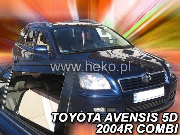 Ветровики TOYOTA Avensis II T250 (2003+) Combi - HEKO