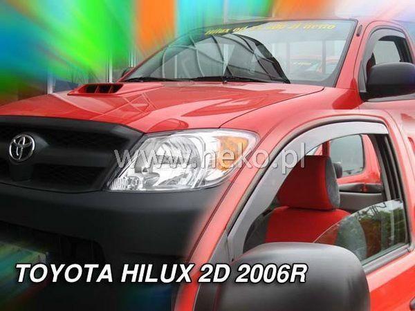 Ветровики TOYOTA Hilux VII (2005-) 4D HEKO