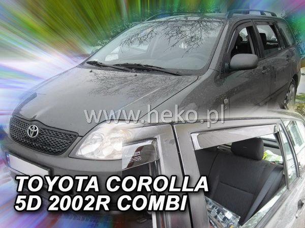 Ветровики TOYOTA Corolla IX (2002-2007) Combi HEKO