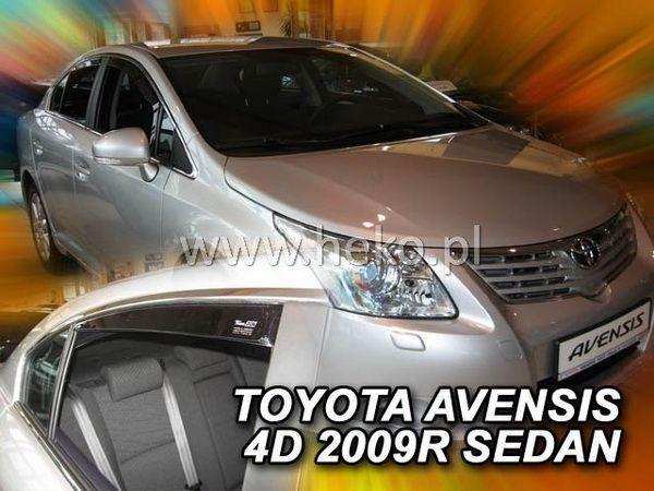Ветровики TOYOTA Avensis III T270 (2009-) Sedan HEKO