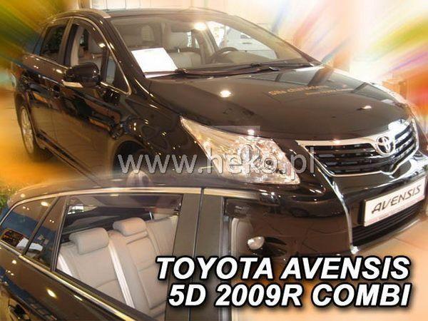 Ветровики TOYOTA Avensis III T270 (2009-) Combi HEKO