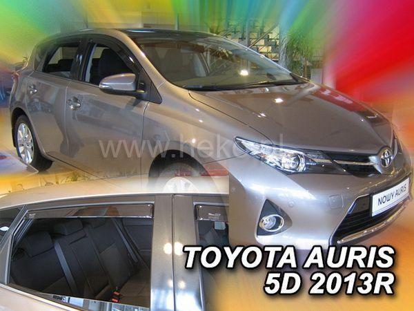 Ветровики TOYOTA Auris II (2012-) 5D Hatchback HEKO