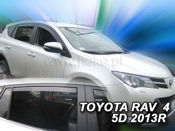 Ветровики TOYOTA Rav4 IV XA40 (2013-) 5D HEKO