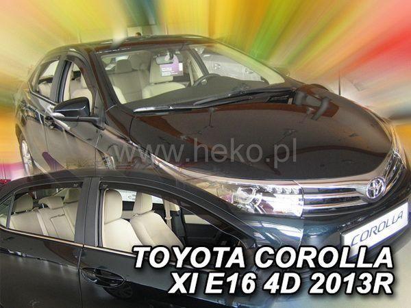 Ветровики TOYOTA Corolla XI (2013-) Sedan HEKO