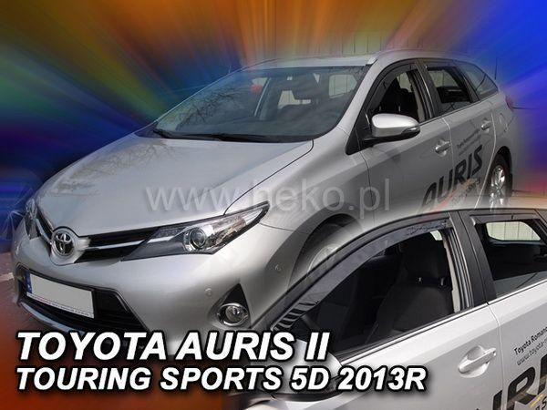 Ветровики TOYOTA Auris II (2013-) Touring HEKO