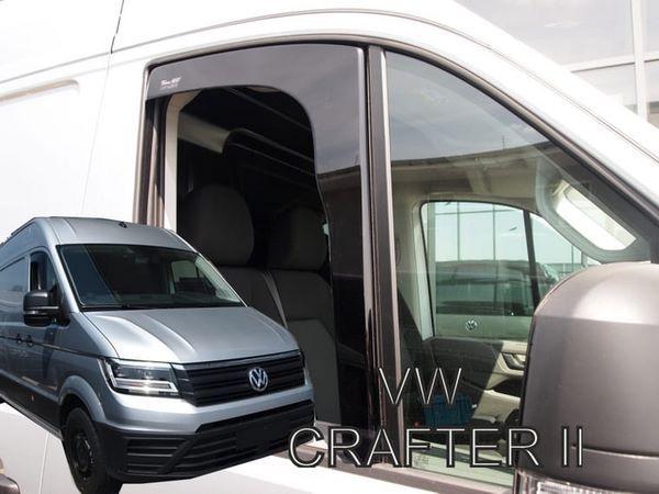 Дефлекторы окон VW Crafter II (2017+) - HEKO 1