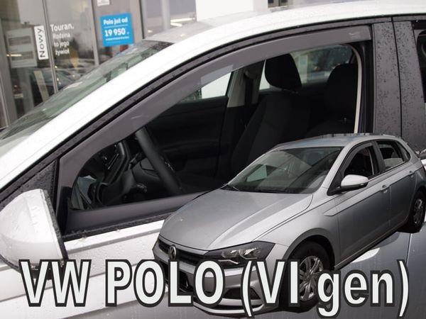 Дефлекторы окон VW Polo VI (2017+) - Heko 2