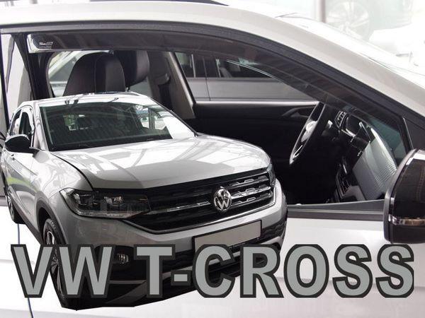 Ветровики VW T-Cross (2019+) - Heko 1