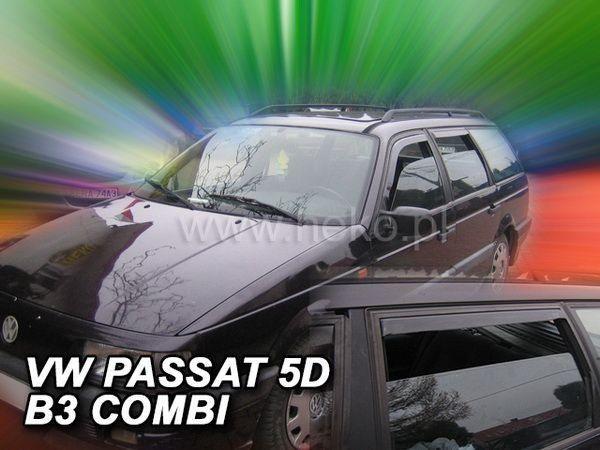 Ветровики VW Passat B3 (1988-1993) 5D Combi HEKO