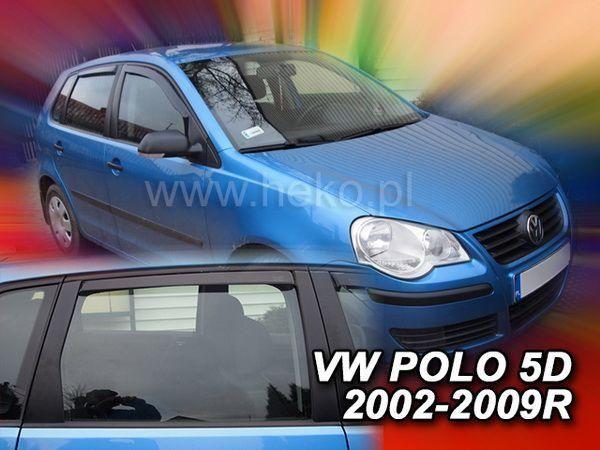 Ветровики VW Polo Mk4 (2001-2009) 5D HB HEKO