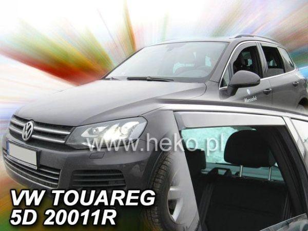 Ветровики VW Touareg I (2002-2010) 5D HEKO