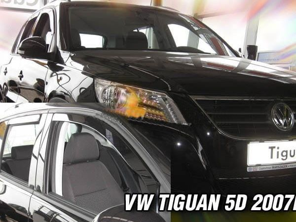 Ветровики (дефлекторы окон) VW Tiguan I (2007-2015) - HEKO