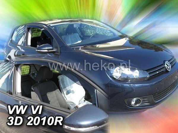 Ветровики VW Golf VI (2009-) 3D HEKO