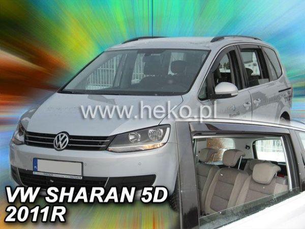 Ветровики VW Sharan II (7N) (2010-) HEKO