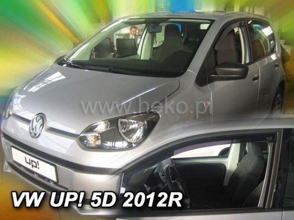 Ветровики VW Up (2011-) 5D HEKO