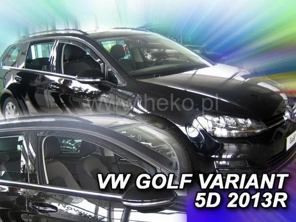 Ветровики VW Golf 7 (13-) 5D Variant HEKO