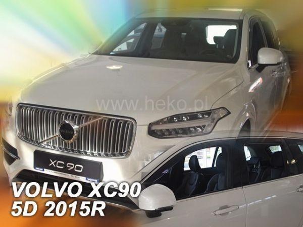 Ветровики VOLVO XC90 (2003-2015) HEKO