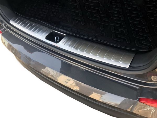 Хром накладка на порог багажника HYUNDAI Tucson TL OMSA