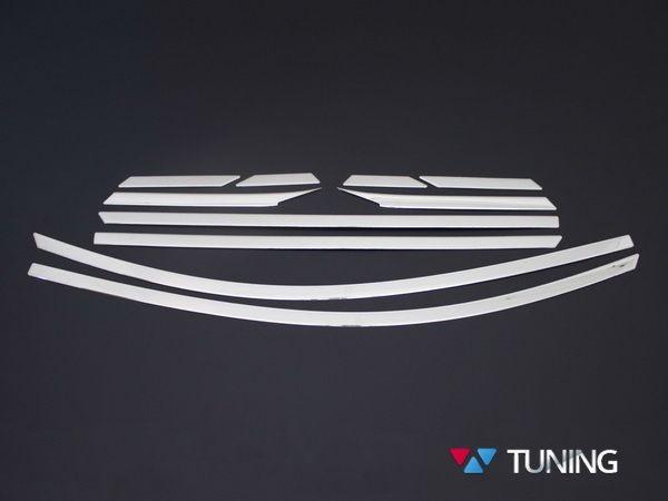 Хром верхние молдинги стёкол HYUNDAI Tucson TL (2016-) - фото #4