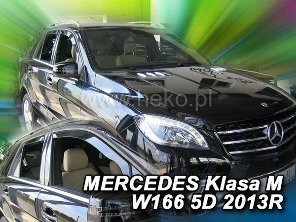 Ветровики MERCEDES ML W163 5D HEKO 2