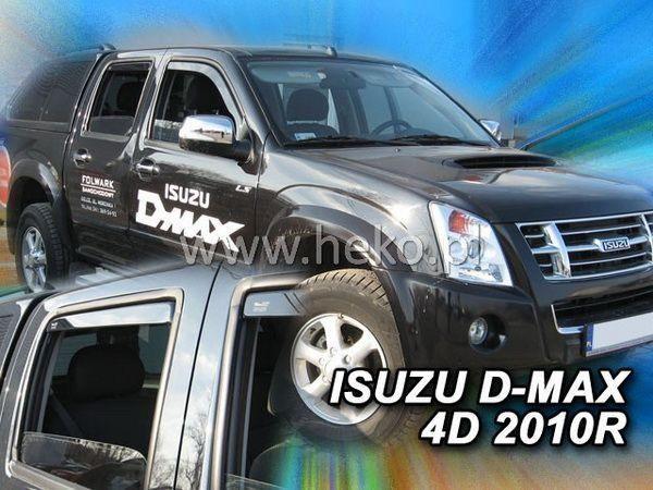 Ветровики ISUZU D-Max (2006-2012) 4D HEKO