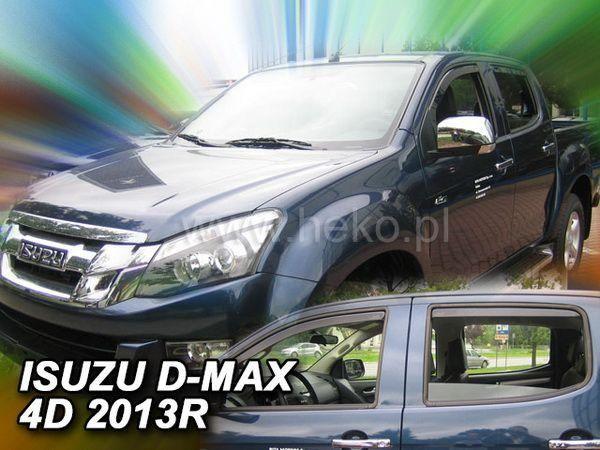 Ветровики ISUZU D-Max II (2012-) 4D HEKO