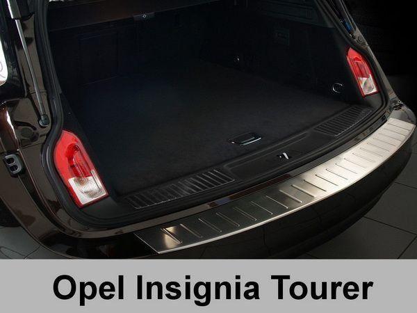 Накладка на задний бампер OPEL Insignia Combi