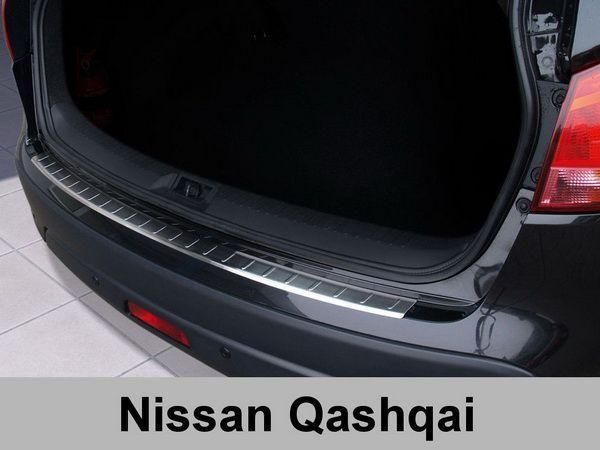 Накладка на задний бампер (Польша) NISSAN Qashqai J10 (07-13)