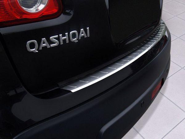 Накладка на задний бампер NISSAN Qashqai J10 (2007-) - Польша - фото 2