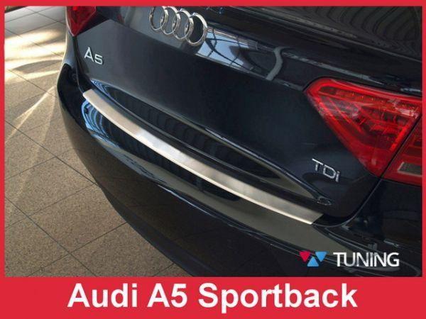 Стальная накладка на задний бампер AUDI A5 (2009-) Sportaback