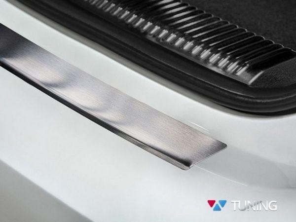 Защитная накладка на задний бампер AUDI A6 C7 Avant - фото 4