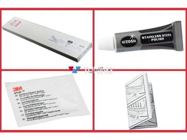 Монтажный набор накладки на задний бампер Avsia