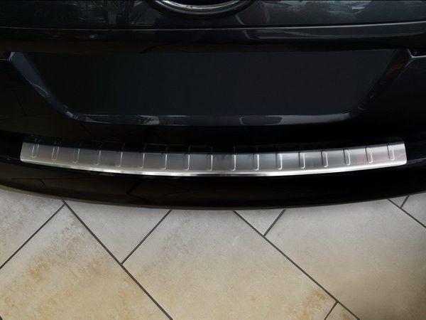 Накладка на зад. бампер (сталь, Польша) KIA Venga (10-14) 5D