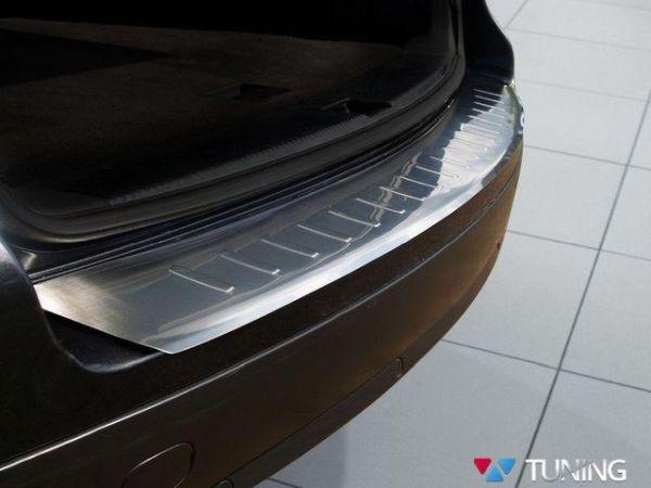 Накладка на порог бампера VW Touareg I (2002-2010) 3