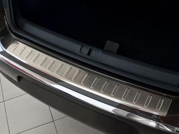 Защитная накладка на задний бампер VW Passat CC (2012-) - AVISA 1