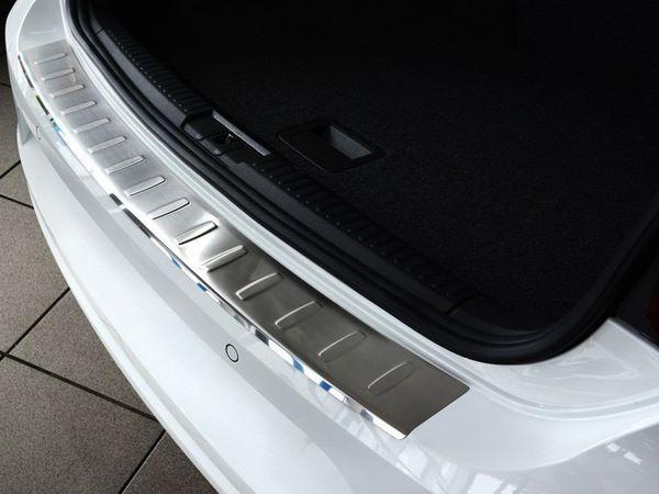 Накладка на бампер VW Polo Mk5 (2014-) рестайлинг