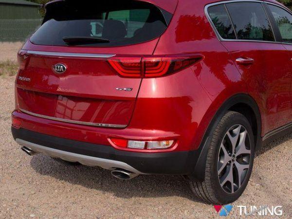 Хром кромка багажника KIA Sportage IV (QL) (2016-)