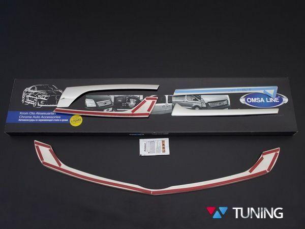 Хром накладки на решётку радиатора MERCEDES Citan W415 - фото #7
