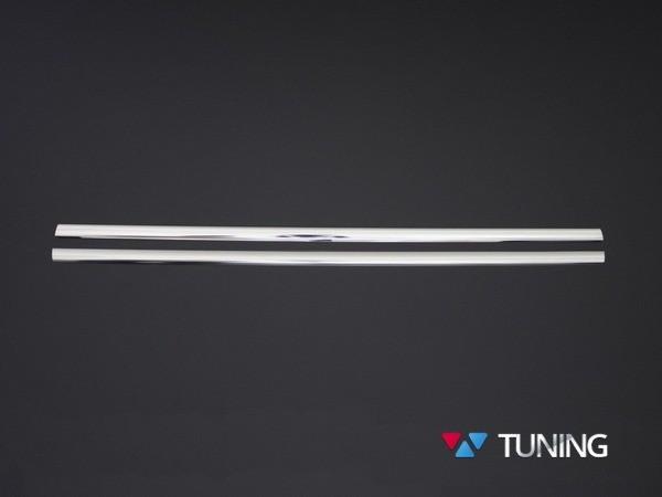 Хром нижняя окантовка стёкол MERCEDES Citan W415 2 шт