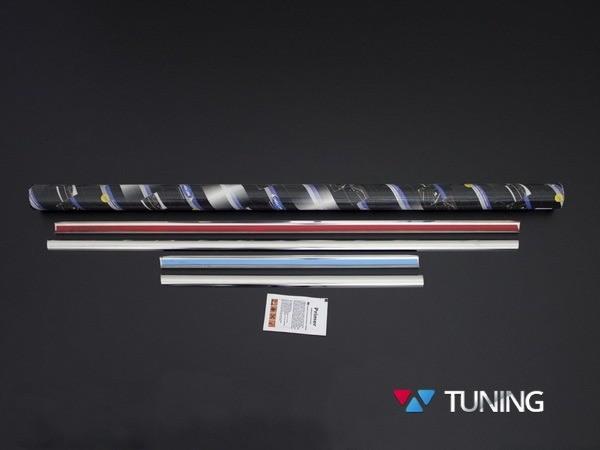 Хром нижние молдинги стёкол MERCEDES Citan W415 4 шт - фото 3