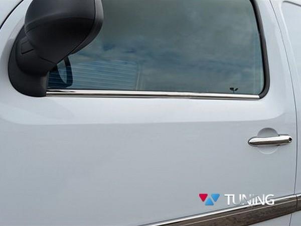 Хром нижние молдинги стёкол MERCEDES Citan W415 2 шт - фото 1