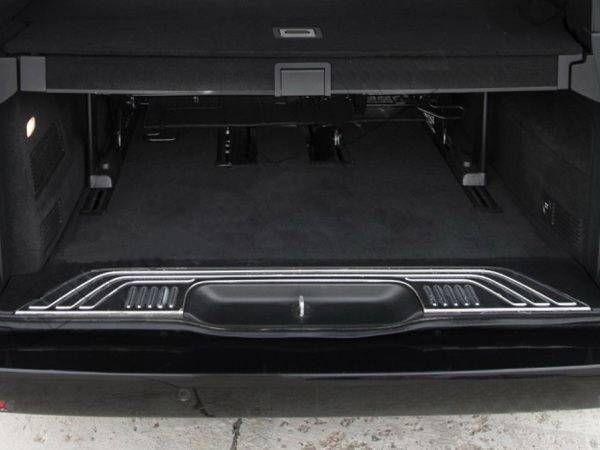 Хром накладка на порог багажника MERCEDES Vito W447